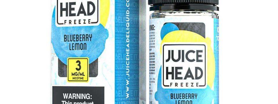 Juice Head Freeze Blueberry Lemon Review