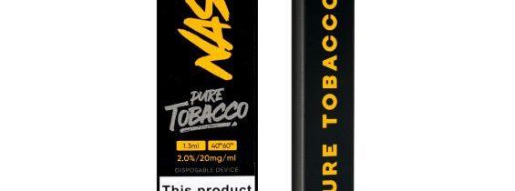 Nasty Fix Pure Tobacco Disposable Vape Pen Review