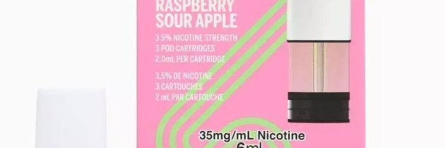 Raspberry Sour Apple Pods by STLTH Pods Review