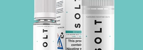 Menthol Nic Salt E-Liquid by SOLT Review